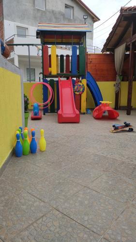 Children's play area at Apartments Maja