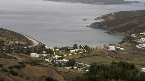 Άποψη από ψηλά του Pegasus Studios and Apartments