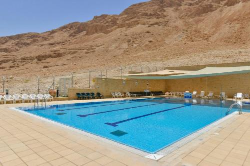 The swimming pool at or near HI - Massada Hostel