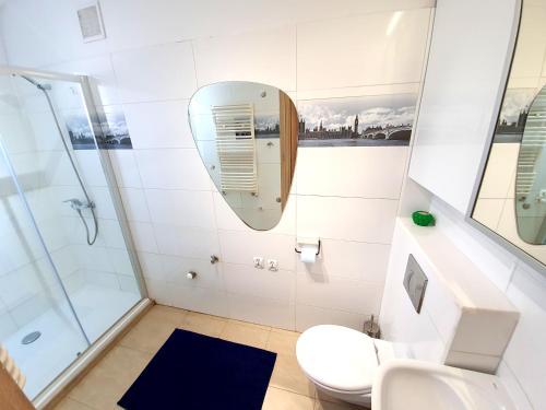 Łazienka w obiekcie Apartament przy Plaży