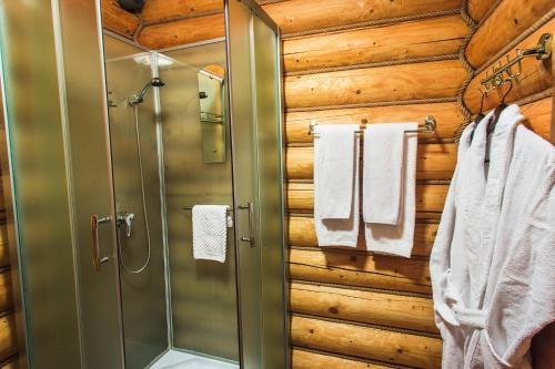 Ванная комната в Гостиничный комплекс Коровницкая Слобода