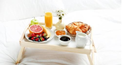Breakfast options available to guests at B&B Martijn Dewulf Ghent