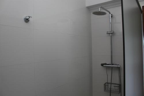 A bathroom at Albergue Turístico Silleda