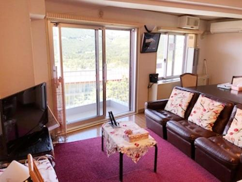 Area tempat duduk di Fuji Subashiri Condominium Tannpopo