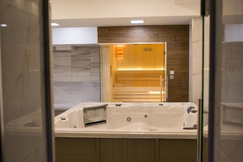 Kupatilo u objektu Hotel Bella Nella