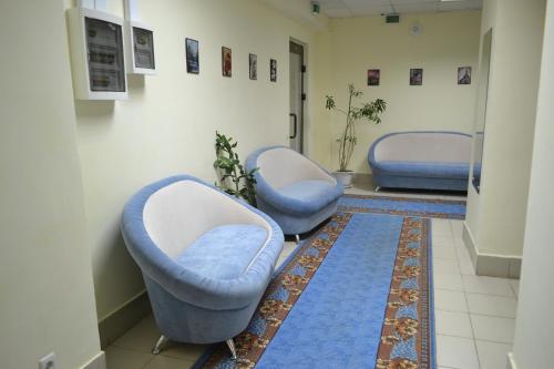 Гостиная зона в Гостиница на Казанской