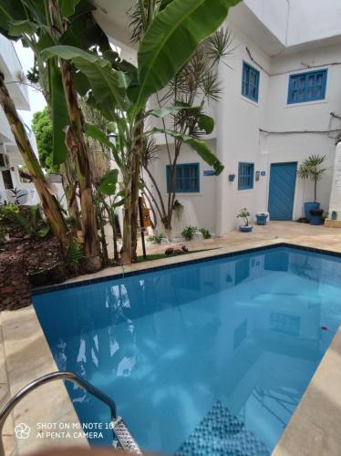 A piscina em ou perto de Pousada Mediterrânea
