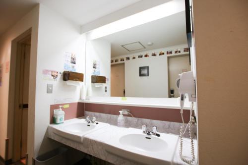 A bathroom at Sakura Hotel Jimbocho