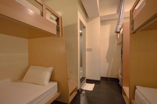 ファン イン 台北 ホステルにあるベッド