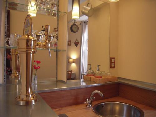 Salle de bains dans l'établissement Bed&B La Ferme De L'ostrevent