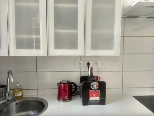 مطبخ أو مطبخ صغير في La Maison de Valentino