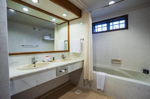 A bathroom at Berjaya Tioman Resort