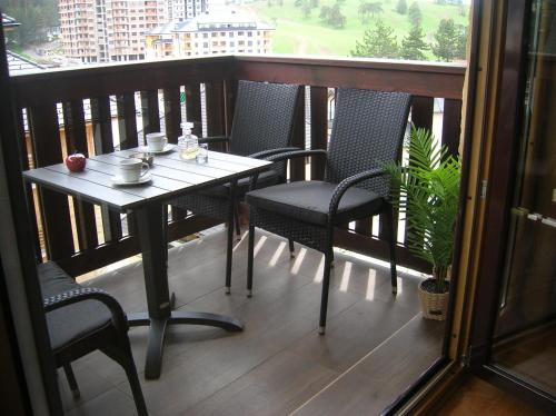 Balkon ili terasa u objektu Hisar 1