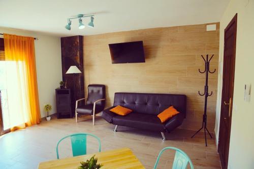 Zona de estar de Casa Rural Las Colmenas
