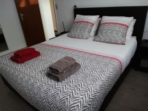 Een bed of bedden in een kamer bij Kokodor