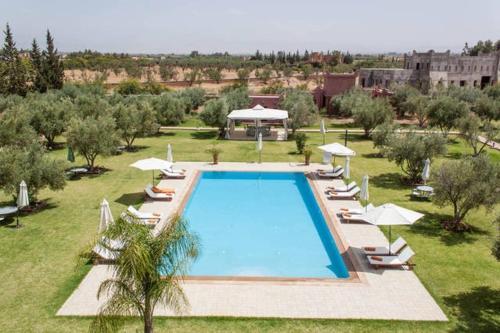 A view of the pool at Villa - Le Diamant De Zaraba or nearby