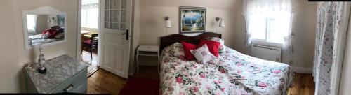 Säng eller sängar i ett rum på Villa Verdi