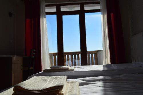 Кровать или кровати в номере Complex Magura