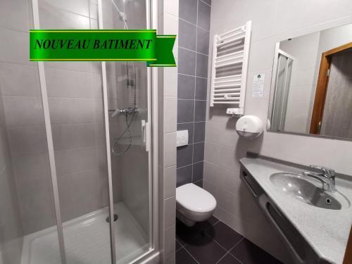 Un baño de Hotel Siatel Chateaufarine