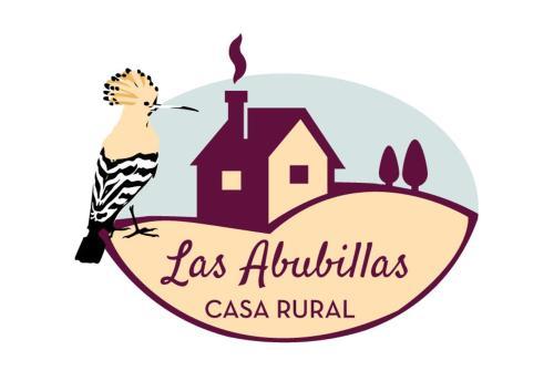 El logo o cartelera de la casa de vacaciones