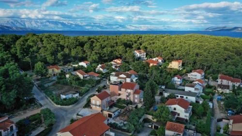 A bird's-eye view of Apartments PauloNina