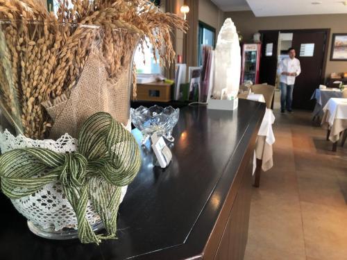 The lobby or reception area at Hotel L'Algadir del Delta