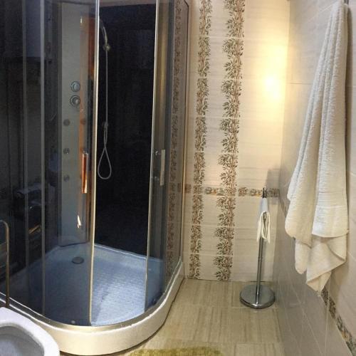 A bathroom at Hotel Almaz