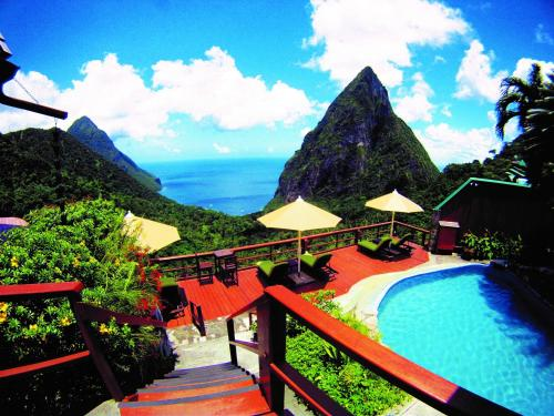 A view of the pool at Ladera Resort or nearby