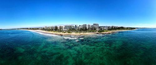 A bird's-eye view of Malibu Apartments