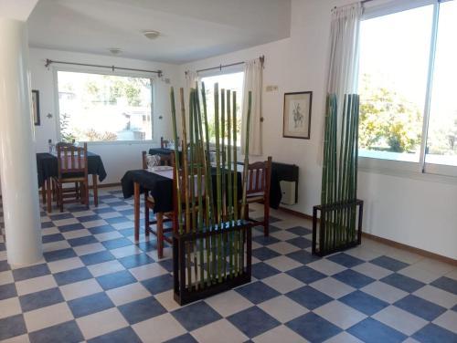 Área para comer en el hotel