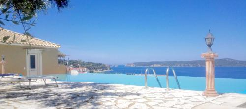 The swimming pool at or close to 12 Gods Resort