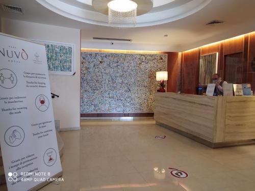 Hall o reception di Hotel Nuvò