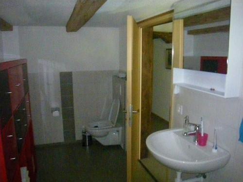 Ein Badezimmer in der Unterkunft Bühl 3
