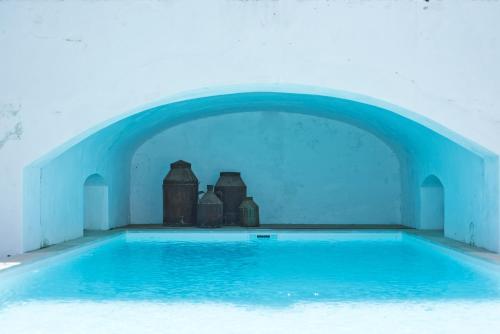 The swimming pool at or near Casa da Moira