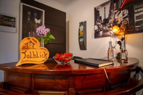 Lobby/Rezeption in der Unterkunft Haus Talblick