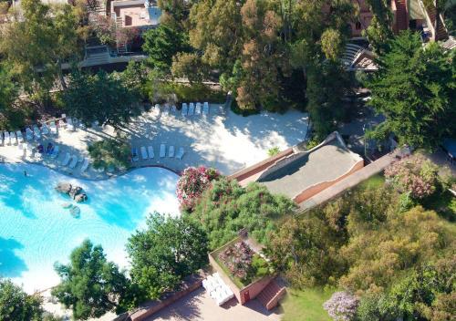 Vista aerea di Arbatax Park Resort - Ville del Parco