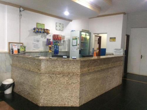 The lobby or reception area at Hotel Santa Luzia