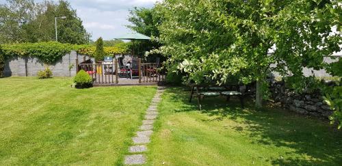A garden outside Doonard Manor B&B