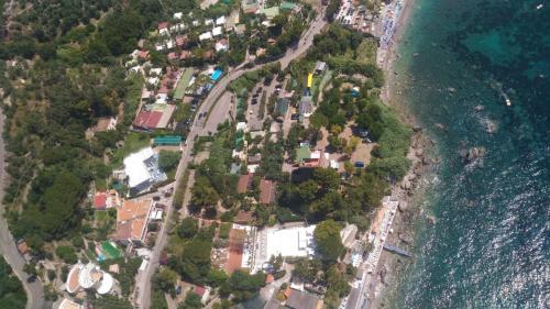 A bird's-eye view of Villaggio Residence Nettuno