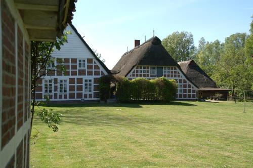 Ein Garten an der Unterkunft ABC Bildungs- und Tagungszentrum e.V.
