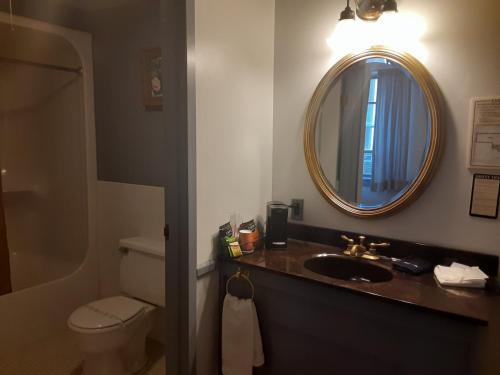 A bathroom at The Charles Inn