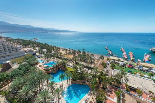 A view of the pool at Royal Beach Hotel Eilat by Isrotel Exclusive Collection or nearby