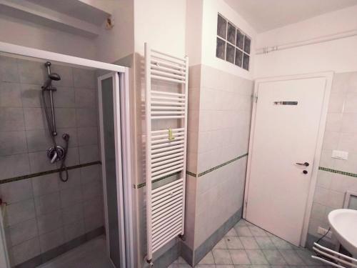 Um banheiro em Ca' Spezier