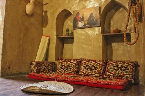 A seating area at Nizwa Heritage Inn