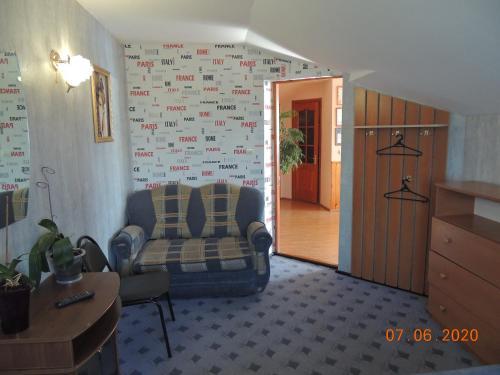 Гостиная зона в Guest House Bereza
