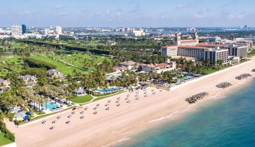 A bird's-eye view of The Breakers Palm Beach