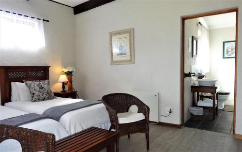 Un ou plusieurs lits dans un hébergement de l'établissement Be My Guest Lodge