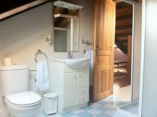 A bathroom at Posada el Tocinero