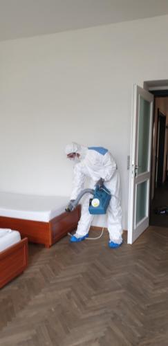 Postel nebo postele na pokoji v ubytování Apartmán Kaiser