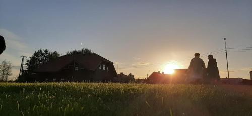 Wschód lub zachód słońca widziany z tego obiektu B&B